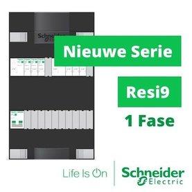 Schneider 1 Fase GroepenKasten
